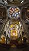 buntes Gestirn (phelsumar) Tags: panorama church licht spain widescreen kirche mallorca farbig bunt spanien balearen kuppel manacor mittelmeer sonnenlicht