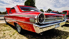 Galaxie 500 HDR (hz536n/George Thomas) Tags: summer ford canon lab michigan canon5d 500 upnorth hdr carshow galaxie 2012 manistee smrgsbord labcolor ef1740mmf4lusm cs5 photomatix40