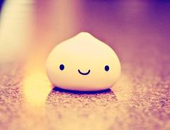 manju's closeup (Strawberry♥Cuteness) Tags: 3 cute japan toy japanese adorable kawaii onsen kun dumpling manju kawaiishopjapan