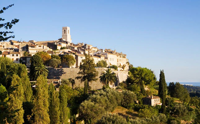 Saint-Paul or Saint-Paul de Vence is a hilltop, fortified village in Alpes-Maritimes department on the Cote d'Azur in southeastern France near Nice. Saint-Paul de Vence has always been a haven of the famous.