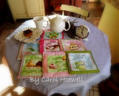 Chá das Cinco (CANELA COOL by CAROL) Tags: tea patch almofada chá cravo