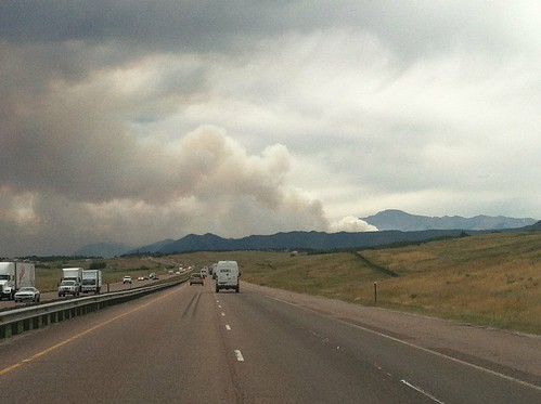 Waldo Canyon Fire Smoke