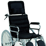 Χειροκίνητο αναπηρικό αμαξίδιο ε Πλάτη Ανακλινούμενη και Μαξιλάρι