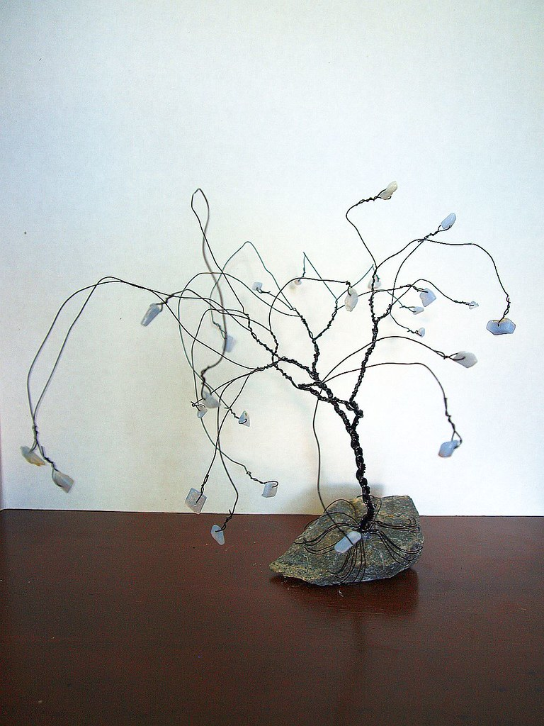 The Worlds Best Photos Of Bonsai And Wire Flickr Hive Mind Wiring In Whispy Blue Lace Agate Crystalterraart Tags Tree Pinetree Rocks Crystals Crafts