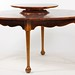 20. Custom Made Solid Cherry Queen Anne style Dining Table