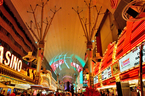 Fremont Street Experience by TimothyJ, on Flickr