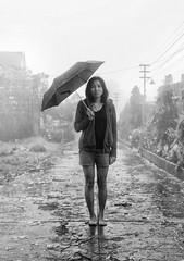 Bagyo (jobarracuda) Tags: umbrella philippines barefoot typhoone bagyo jobarracuda jojopensica dbqueen pensica jennytanedo
