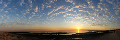 Fintas Pano Sunrise 5 (bakanahakuchi) Tags: panorama clouds sunrise kuwait seashore fintas