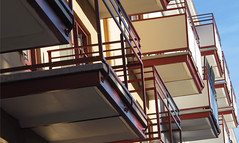 Balconies (Barbro_Uppsala) Tags: sweden uppsala balconies balkonger geijersgatan
