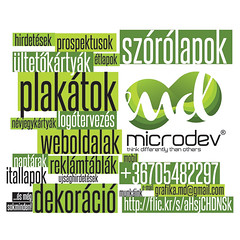 Microdev (microdev.design) Tags: design webdesign plakt grafika wirelessmarketing mobilmarketing szrlap dekorci tervezs nvjegykrtya totemoszlop arculat wifimarketing microdevhu rdireklm kreatvdesign brandinganyagok