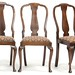 12. Early 20th century Queen Anne style Chairs