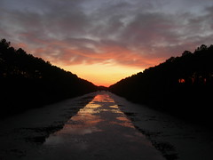 Sunset over the Canal (jimmywayne) Tags: sunset canal northcarolina historic southport brunswickcounty