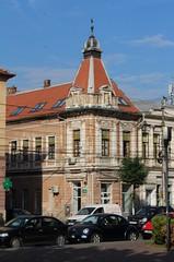 Beautiful building - no. 6 Piaa Avram Iancu - Cluj-Napoca, Jud. Cluj, Romania (Wayne W G) Tags: building tower architecture buildings europe towers romania turret turrets easterneurope cluj clujnapoca geo:country=romania