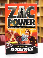Blockbuster (Vernon Barford School) Tags: new school fiction andy reading book high power library libraries reads books science read paperback adventure larry spy junior novel spies hi sciencefiction zac adventures hook pick middle vernon quick recent picks paperbacks blockbuster novels fictional adventurers barford softcover hilarry quickpicks quickpick spystories vernonbarford quick softcovers picks zacpower 9781443113229