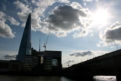 Blue Shard (tezzer57) Tags: sky urban london clouds londonbridge riverthames londonist theshard