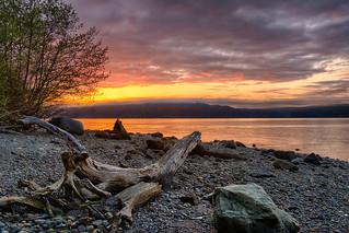 An April Sunrise