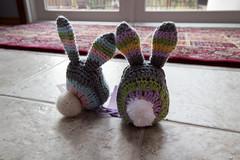 Mandala Bunnies (Terriko) Tags: stuffedtoy bunny toy crochet yarn gift amigurumi curiousityca