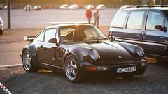 Porsche 965 Turbo (m.grabovski) Tags: black 911 poland polska turbo porsche warsaw warszawa 965 mgrabovski