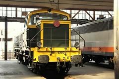 63013 (yann.train) Tags: paris train diesel railway locomotive nord sncf patrimoine lachapelle thermique bb63000 63013 matrielprserv bb63013 grandtrain