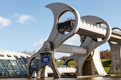 The Falkirk Wheel (Daniel Tetstall) Tags: wheel project scotland clyde boat lift union scottish millennium canals forth link rotating falkirk the