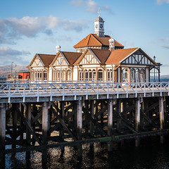Scotland - Dunoon - Dunoon Pier in the Sun (Andrew Hounslea) Tags: building architecture buildings scotland clyde pier nikon unitedkingdom g argyll united kingdom d750 nikkor peninsula vr firth dunoon bute 28300 firthofclyde cowal cowalpeninsula argyllandbute dunoonpier 28300vr afsnikkor28300mmf3556gedvr