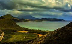 Landscape in Saint Martin. (ost_jean) Tags: sky saint martin hill paysage landschap basseterre