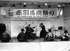 (sword battle demo) (Dinasty_Oomae) Tags: blackandwhite bw monochrome festival tokyo blackwhite outdoor  akabane kitaku        taiyodo  swordbattle taiyodokoki beautycamera  35 beautysuper35 35 beauty35super