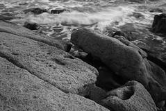 (MomchilAtanasoff) Tags: sea bw rocks pentax bulgaria blacksea seacoast 2835 3570 manuallens manualfocusing canon6d