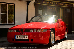 2016 Worcester Motor Festival - Alfa Romeo SZ Zagato (Si 558) Tags: festival alfa romeo motor worcestershire alfaromeo worcester zagato sz 2016 alfaromeoszzagato worcestermotorfestival
