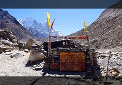 A small and very old shiva temple (koushikzworld) Tags: mountain nature trekking photography fuji indian sony himalayas ganga gangotri gomukh carlzeiss shivling bhagirathi uttarakhand gaumukh koushikzworld koushikbanerjee