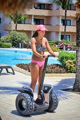 A Nice Segway (Brian 104) Tags: girl mexico fun resort riding segway