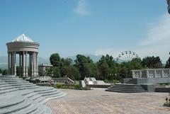 Dushanbe - Choikhona Kokhi Navruz Gardens (jrozwado) Tags: asia tajikistan dushanbe teahouse