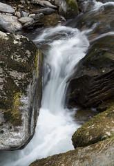 Moody Water (PJD_Photos) Tags: longexposure water rocks devon lynmouth watersmeet northdevon