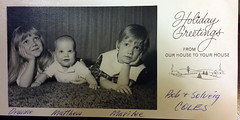 Coles Christmas Card, 1968 (Stewf) Tags: christmas handwriting matt script marilee deanne colesfamily