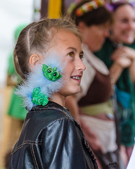 A Girl and Her Drabbit (Kevin MG) Tags: ca costumes girls usa cute youth losangeles pretty little young faire renfaire adolescent renaissance renaissancefaire preteen irwindale socalrenfaire drabbit