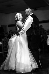02469163-76-Mike and Lindsey Wedding-43-Black and white (Jim There's things half in shadow and in light) Tags: wedding portrait blackandwhite love michael paige april lindsey hurley canon5dmarkiii canonef50mmf18stmlens