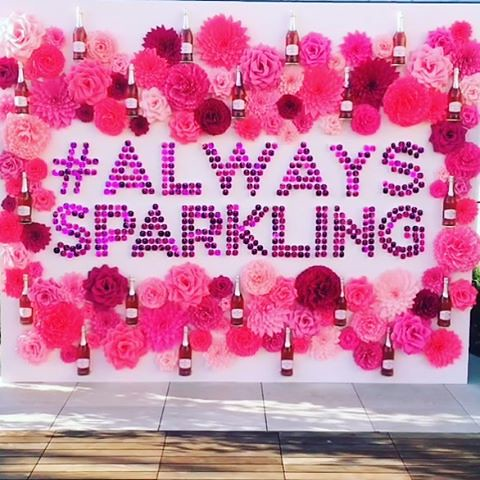 Ruffino Rose launch party is on! #AlwaysSparkling #ruffinowines #events #eventlife #LAevents #staffing #girlboss #hollywood #allmalestafftonight #200ProofLA #200Proof 🌸