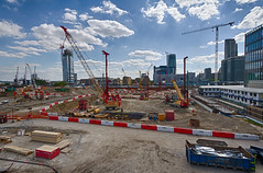 Docklands May 2016 (21 of 31) (johnlinford) Tags: london canon construction poplar docklands canarywharf canonefs1022 woodwharf canoneos7d