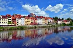 Zgorzelec (Tobi_2008) Tags: city reflection water river town wasser poland grlitz stadt polen fluss spiegelung zgorzelec neisse