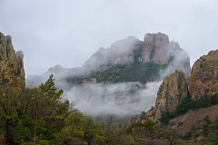 West Texas-Big Bend May 2016-137 (Rick Byrnes) Tags: fog westtexas bigbend chisos chisosbasin chisosmountains