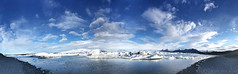 Imagine a perfect hideaway without a time (OR_U) Tags: blue sea sky panorama lake mountains ice beach clouds coast iceland pano ngc lagoon glacier oru stitched icebergs nightwish jkulsrln 2016 glacierlake vatnajkullnationalpark