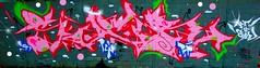 pink (Sucr ODVCK LCN) Tags: writer wall urbex urban streetart street startape spray spraycan pièce peinture painting painter paint muraliste mur mural legal kingofgraff hiphop graphotism graff fresque caps bombe bombing aerosol artist art vckingz odv graffiti paris kinshasa afrique lcn lechatnoir montana fatcap burnerdandstyle winter hiver style vck seyze sucr dessin