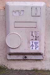 Paris (I LOVE TP) Tags: street streetart paris art love sticker stickerart tp aufkleber autocollant parisv ilovetp