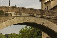 Pons Fabricius - the oldest bridge in Rome (62 BC) (colinemcbride) Tags: bridge italy rome roma river island ancient italia tiber oldest lazio isola pons tiberina fiumi fabricius