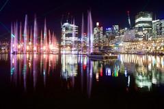 Darling Harbour 1 (interruptr) Tags: night harbour sydney vivid australia nsw vividsydney