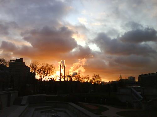 На Москве рассвет