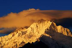 Meri Snow Mountain (autrant) Tags: china minolta ngc tibet yunnan snowmountain summits minoltalens merisnowmountainyunnanchinasunrisesnowmountain