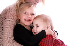 Robert And Lizzie (JonCoupland) Tags: 2 portrait smile boston pose studio children photography jon doll child photoshoot 10 young giggle grin months coupland swineshead mainwaring fishtoft