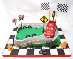 Cars (Mariana Pugliese) Tags: cars cake disney feliz rayo cumpleaños torta mariana mcqueen pugliese pugliesem tortasdemariana