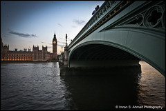 Westminster during the golden hour (imran*) Tags: uk england london bigben wideangle 7d gb westminsterbridge londonbridges londonlandmarks 2011 londonbuildings canon7d